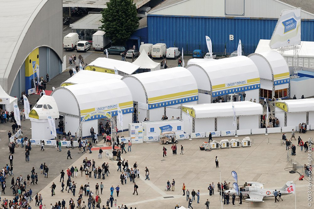 Paris Air Show Exhibit