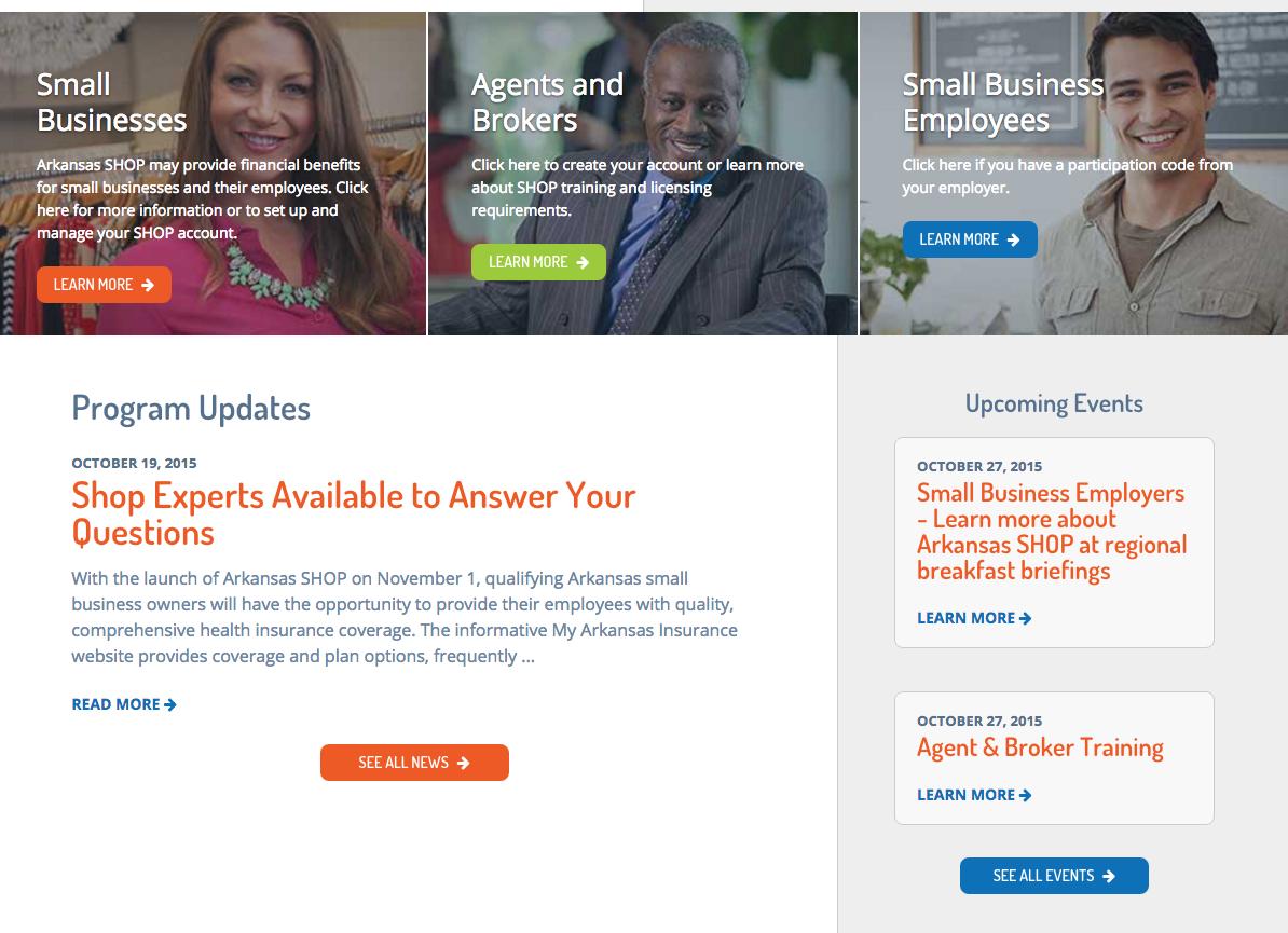 Arkansas Small Business Health Insurance Marketplace to ...