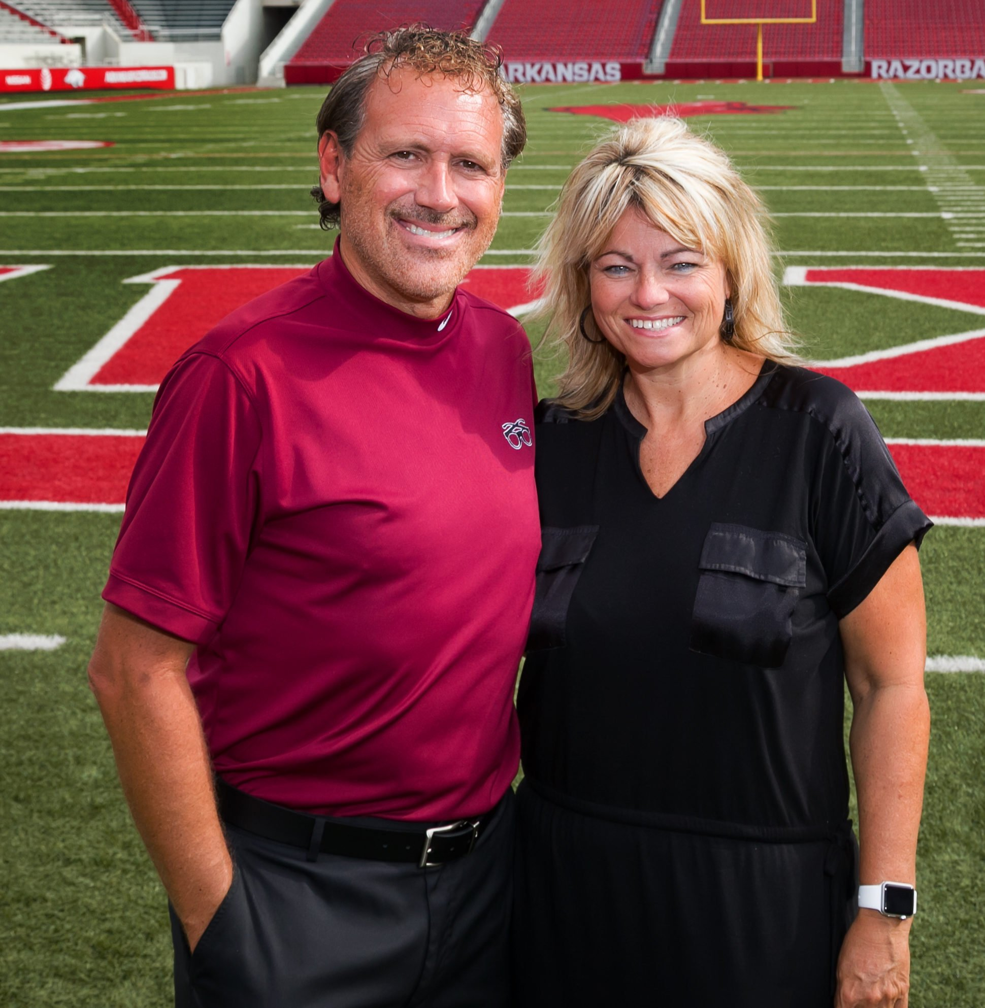 Marty and Vickie Burlsworth (Photo by Stephen Thetford)