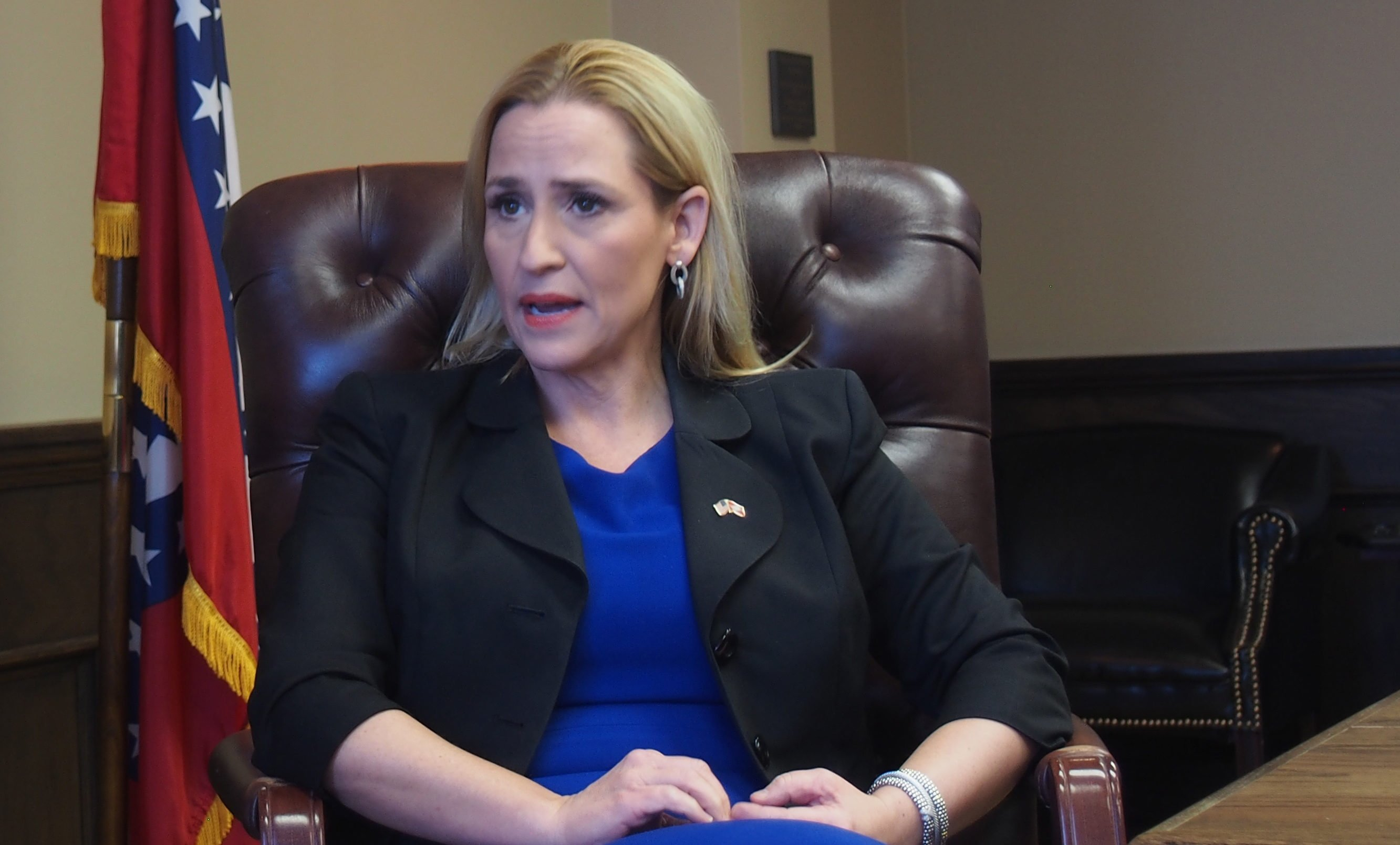 Arkansas Attorney General Leslie Rutledge during AMP interview on October