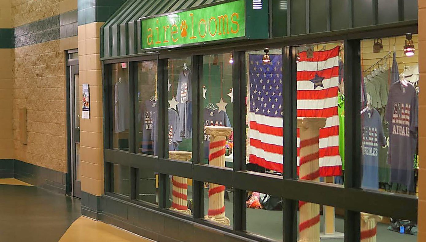 Alma High Airedales store up experience in school's aire