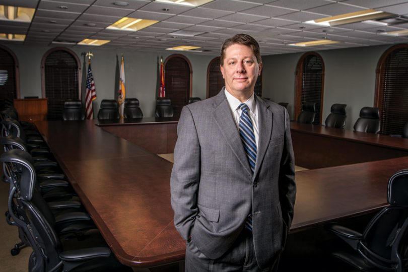 Bo Ryall, President and CEO of the Arkansas Hospital Association