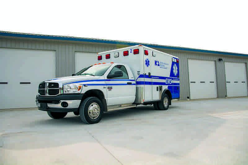 NARMC ambulance
