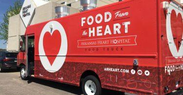 Arkansas Heart Hospital food truck