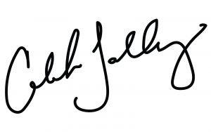 AMP Editor Caleb Talley's signature