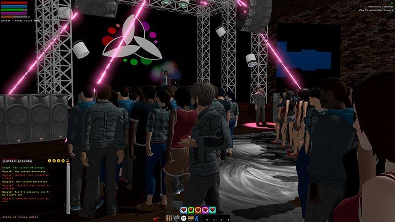 A concert in Consortya