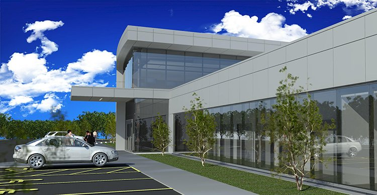 A rendering of CHI St. Vincent's new neuroscience center. Photo courtesy of CHI St. Vincent.