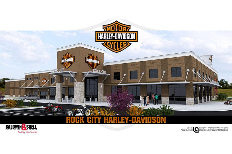 Harley-Davidson rendering