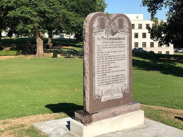 Merged Lawsuits Challenge Ten Commandment Monument